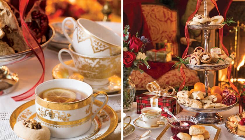 Hosting a Christmas Afternoon Tea