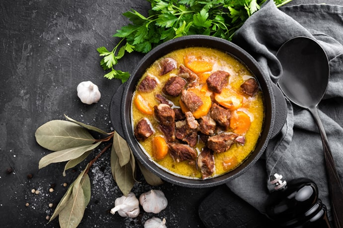 Classic Hungarian Goulash Beef Soup
