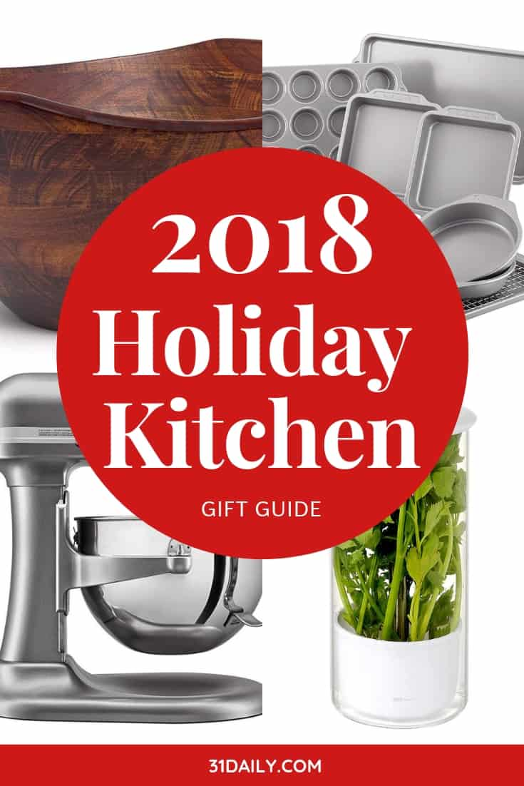2018 Holiday Kitchen Gift Guide | 31Daily.com