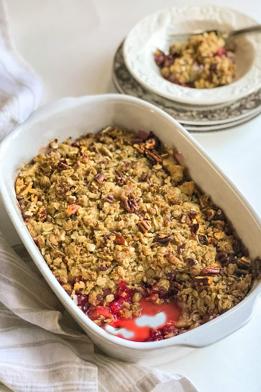 Cranberry Apple Crisp with Toasted Pecans: A Cozy Treat | 31Daily.com