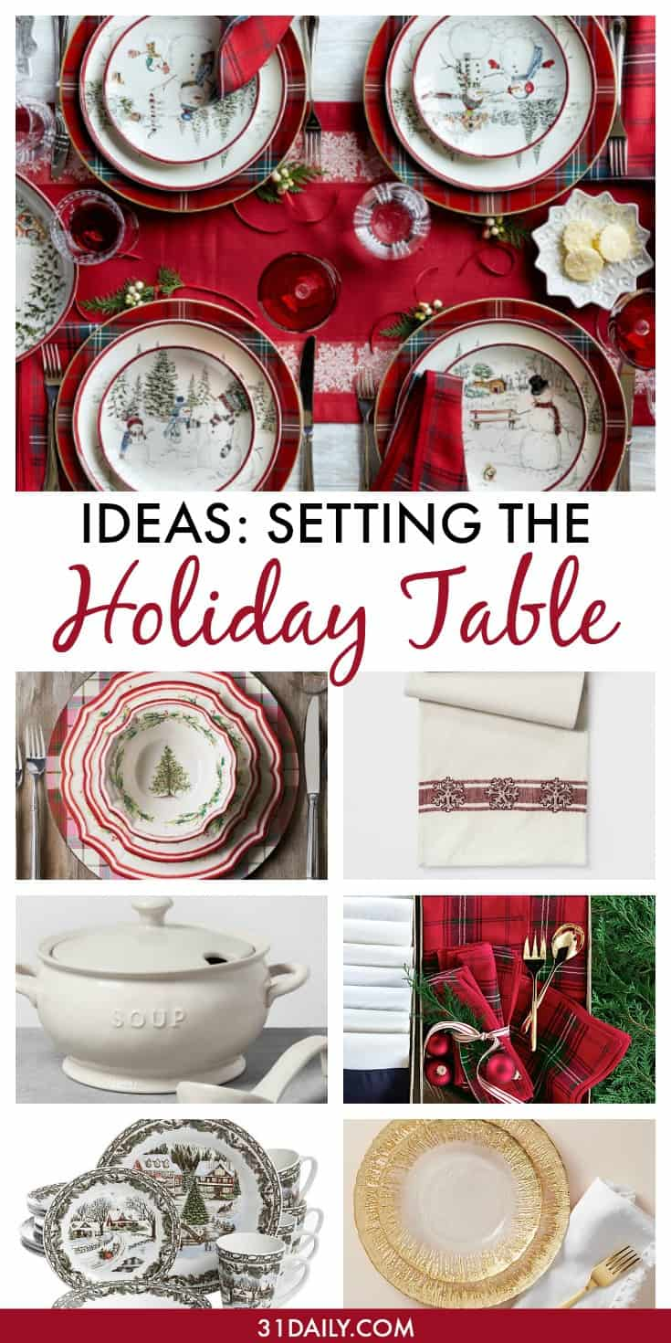 The Holiday Table Gift Guide | 31Daily.com