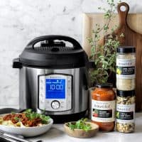 Instant Pot Duo Evo Plus Pressure Cooker, 6-Qt