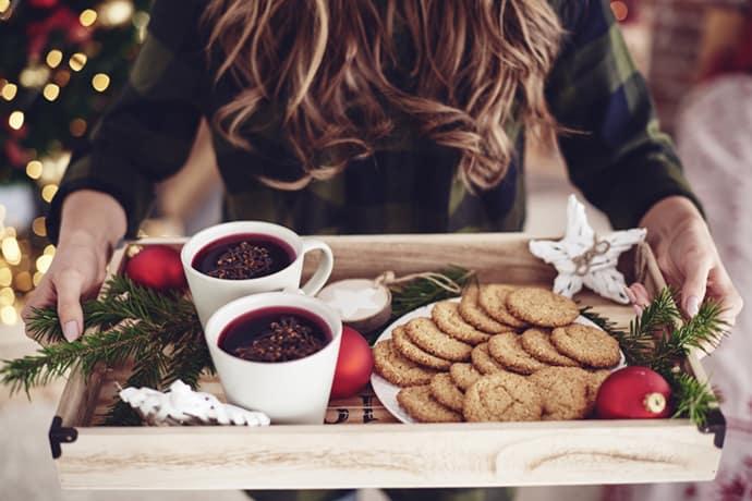 Christmas Cookie Tray withWorldwide Christmas Cookies