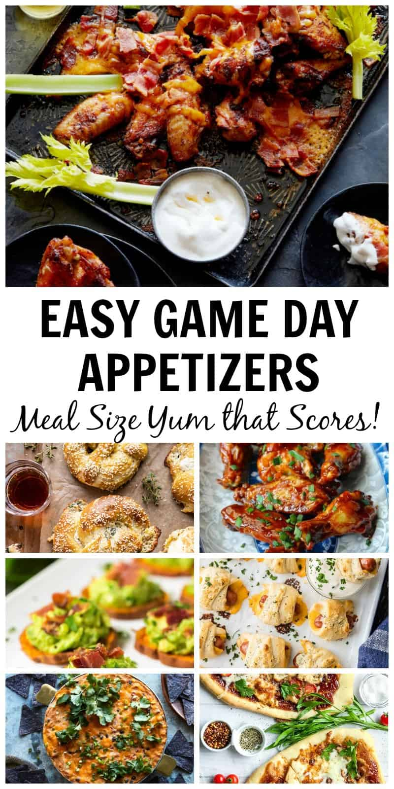 Easy Game Day Appetizers That Score Big on Game Day | 31Daily.com