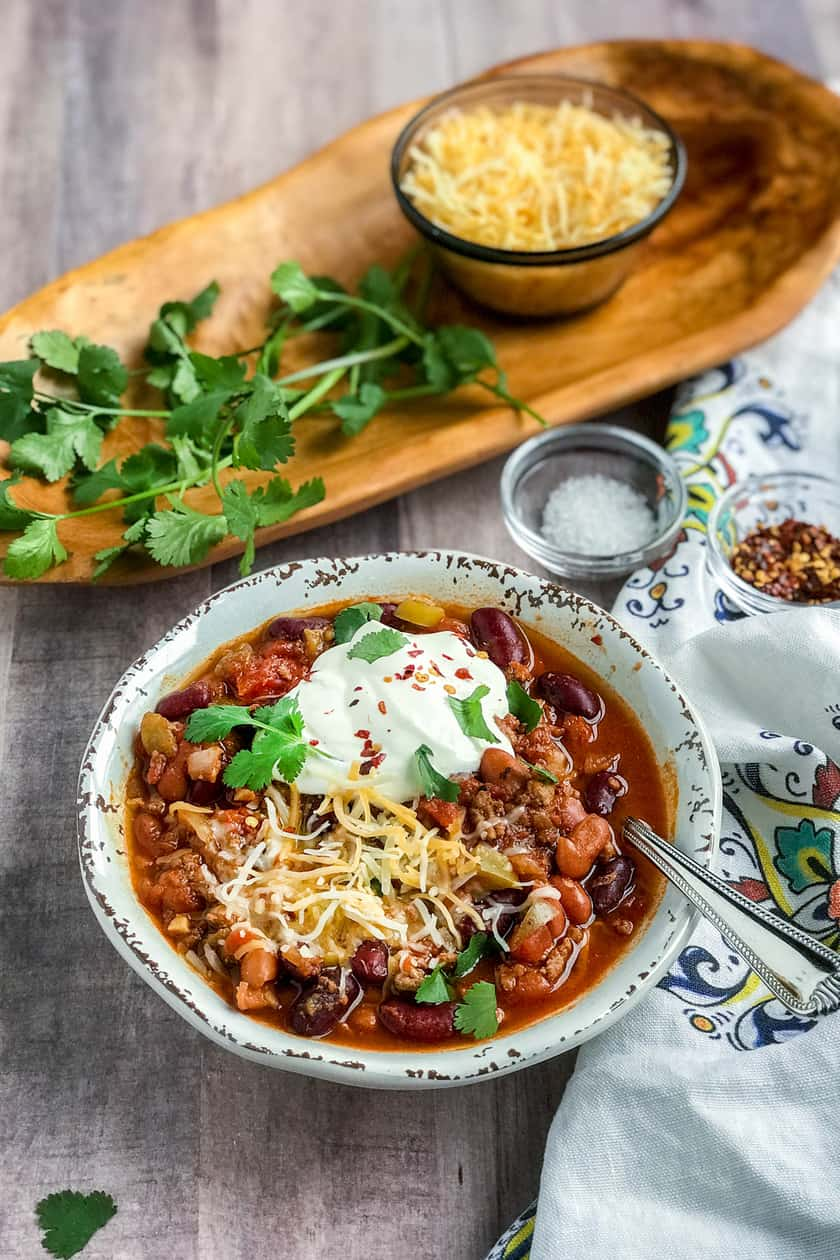 My Favorite Easy Instant Pot Chili Ever | 31Daily.com