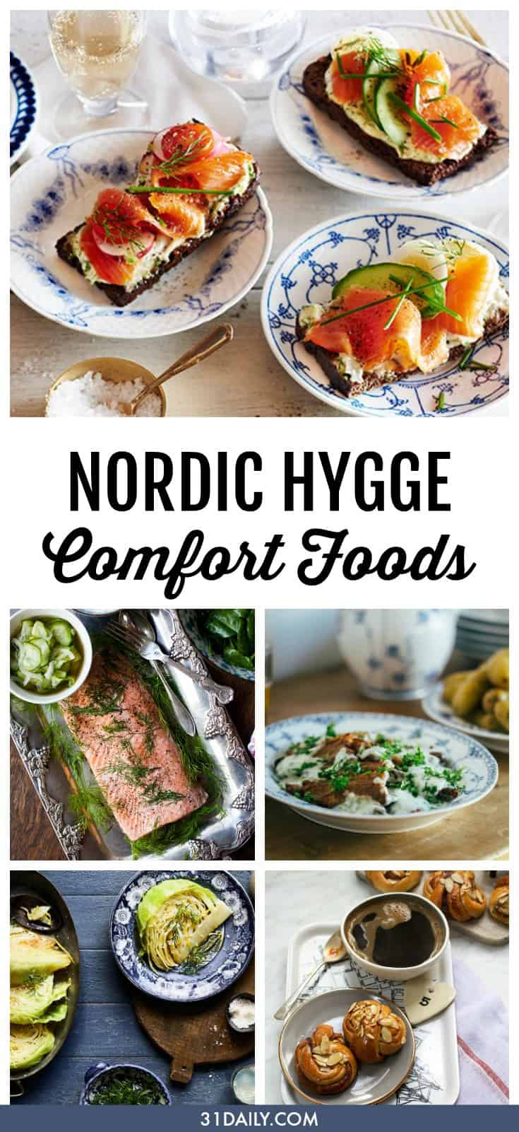 Comfort Foods to Inspire Nordic Hygge | 31Daily.com