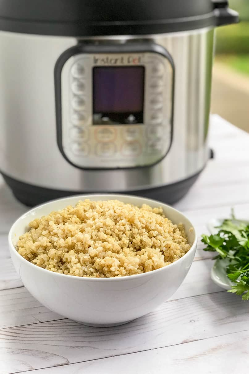 How to Perfectly Cook 1 Minute Instant Pot Quinoa | 31Daily.com