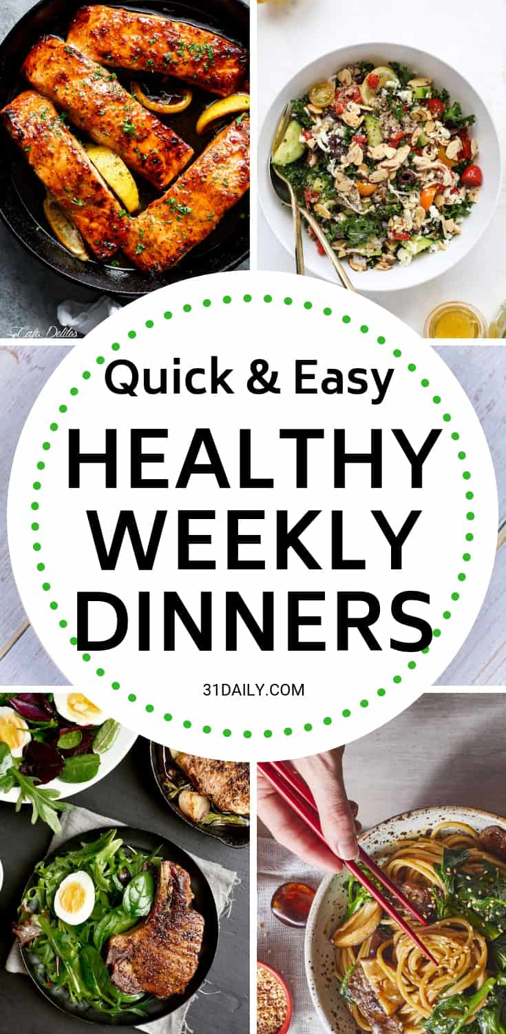 Meal Plan // Week 6: Hearty, Healthy Comfort Food | 31Daily.com