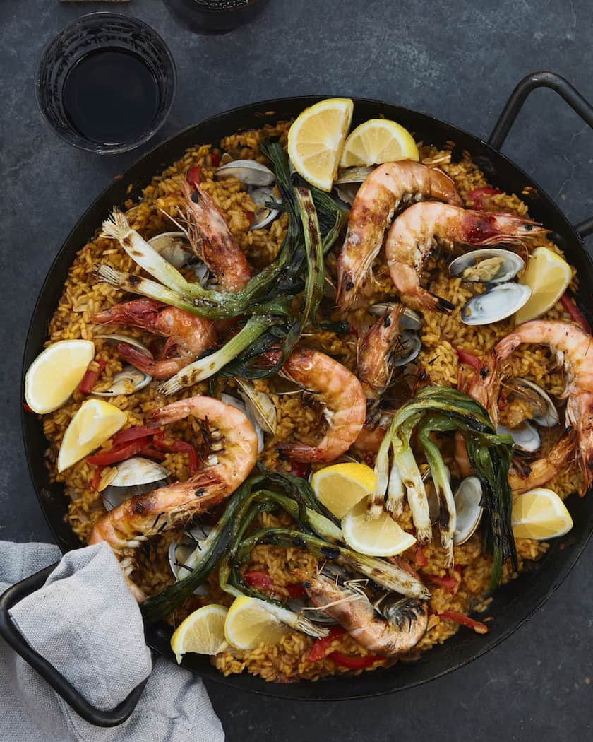 Seafood Paella for 45 Easy Lent Recipes for the Lenten Season