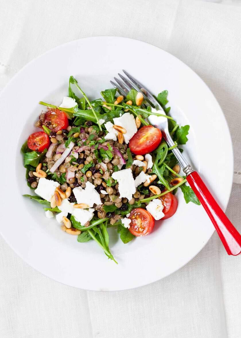 Lentil Salad for 45 Easy Lent Recipes for the Lenten Season