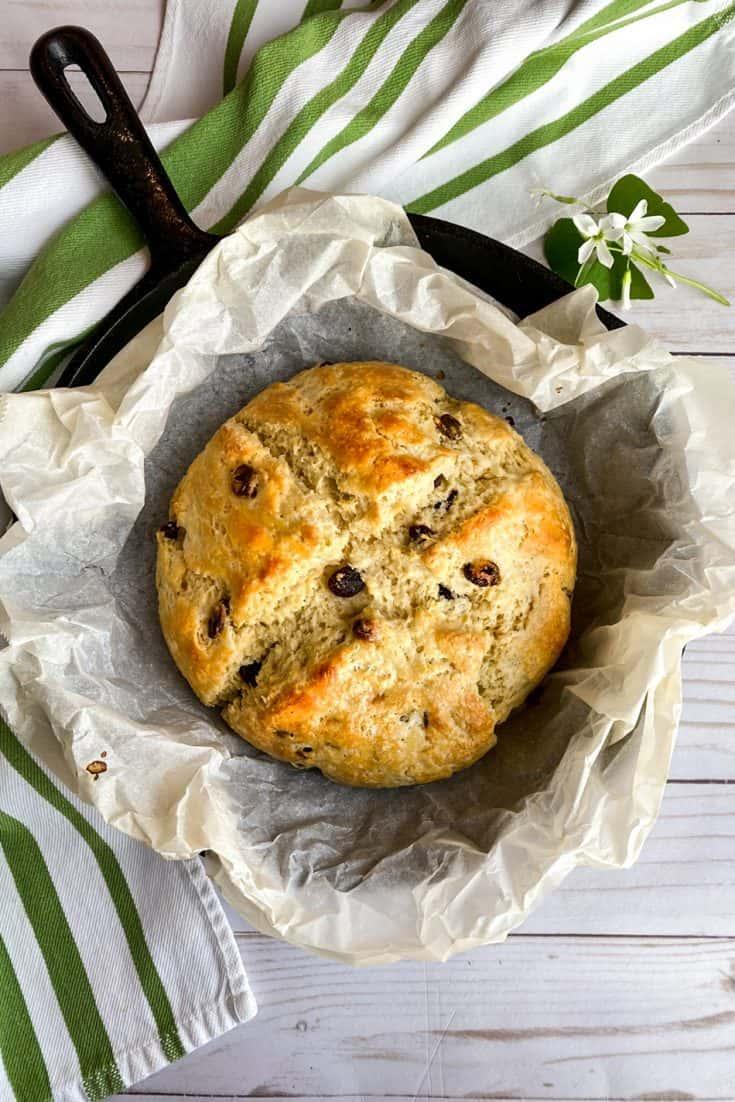 Treat: Irish Soda Bread with Buttermilk and Raisins