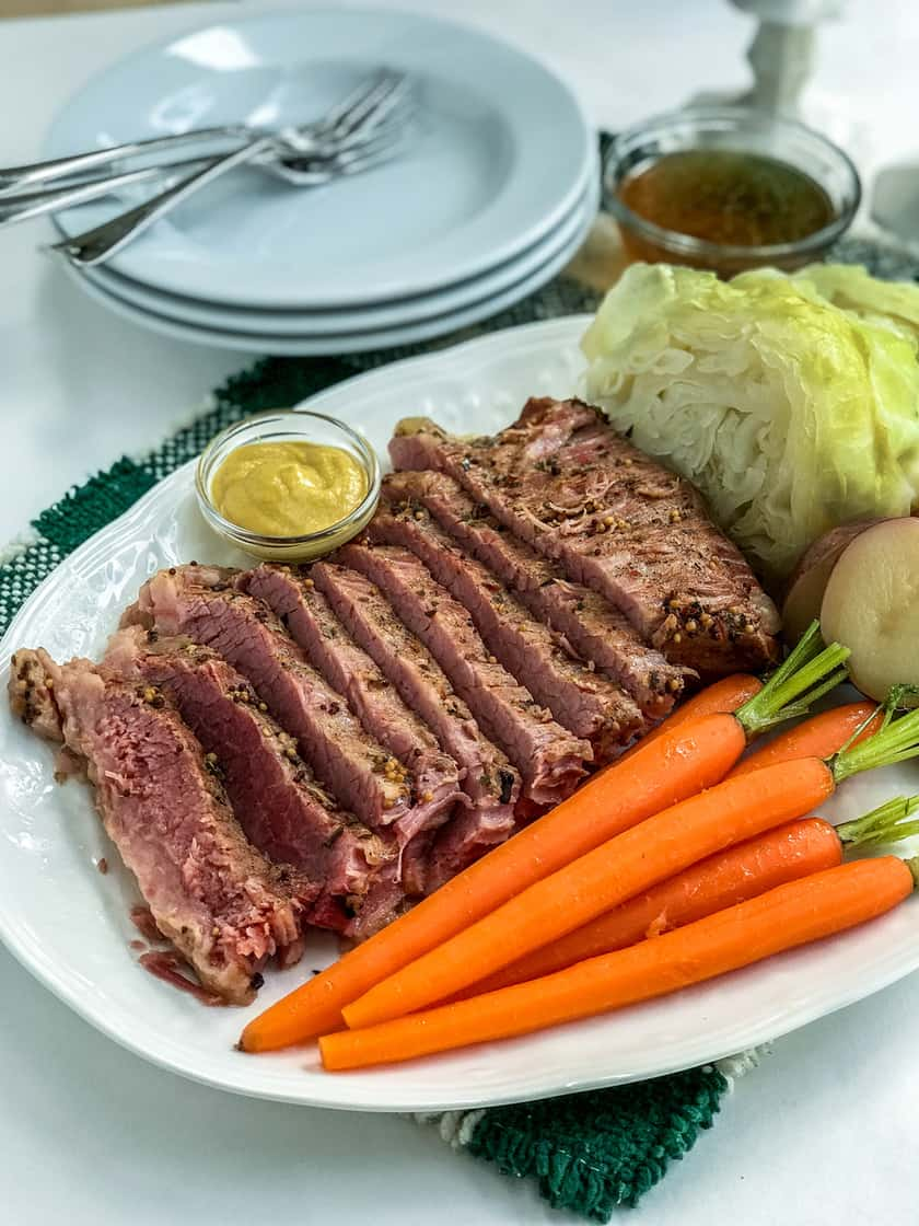 Instant Pot Corned Beef and Cabbage | 31Daily.com