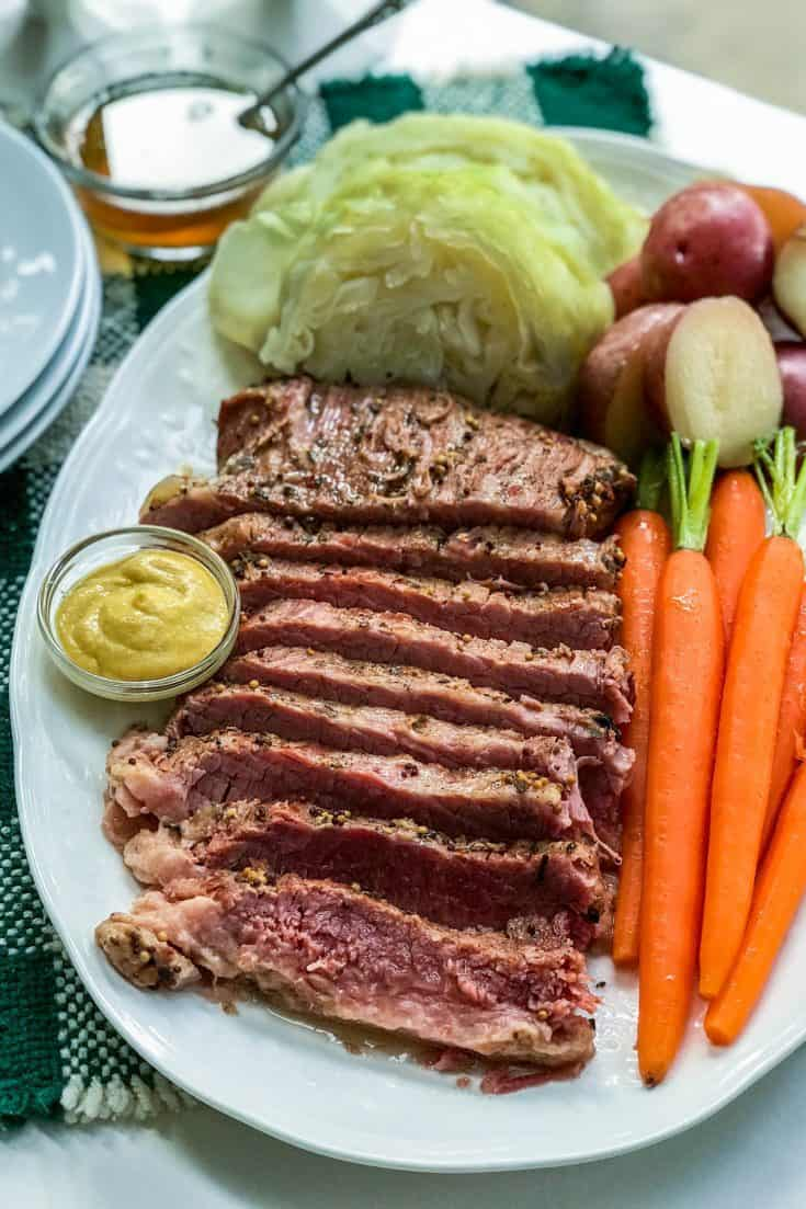 St. Patrick's Day: Instant Pot Corned Beef and Cabbage