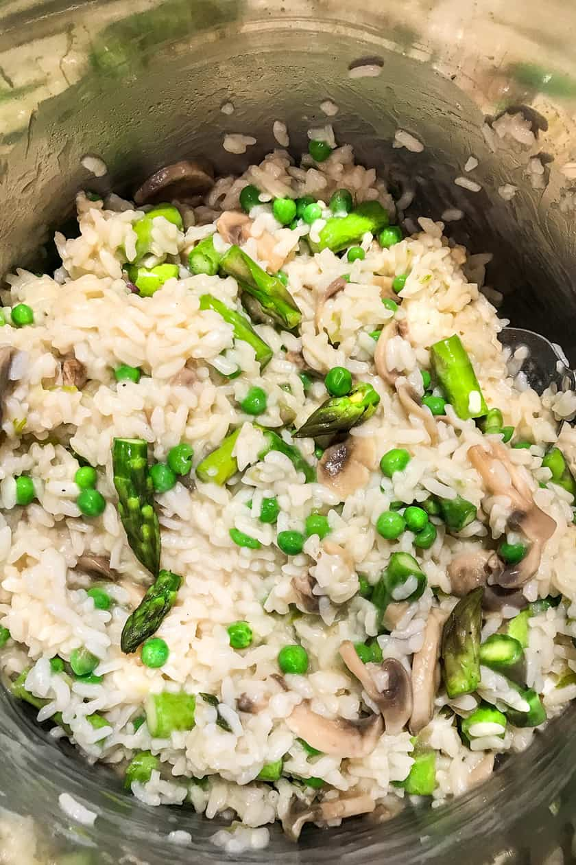 Easy Instant Pot Spring Risotto | 31Daily.com