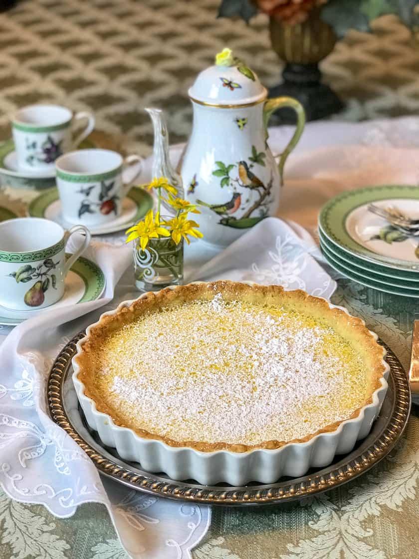 Easy Lemon Tart with Shortbread Crust | 31Daily.com