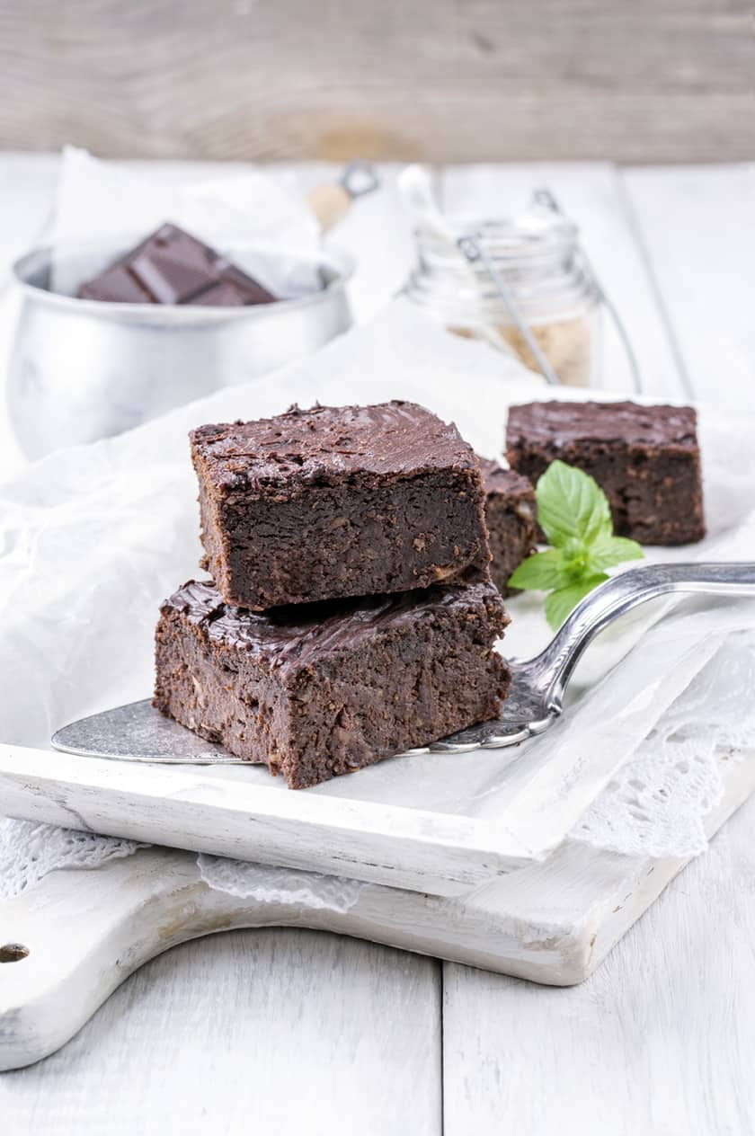 Fudgy Mint Chocolate Brownies | 31Daily.com