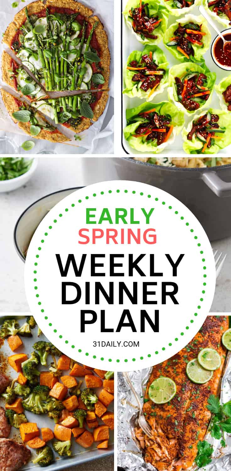 Meal Plan // Week 13: Spring Dinners | 31Daily.com