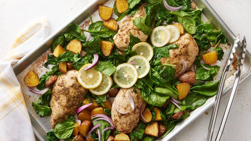 Meal Plan // Week 10: March Sheet Pan Dinners   31Daily.com