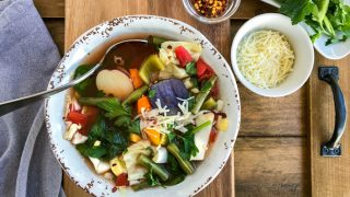 Vibrant and Healthy Slow Cooker Cabbage Soup