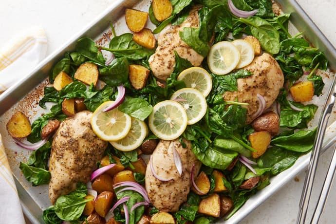 Meal Plan // Week 10: March Sheet Pan Dinners