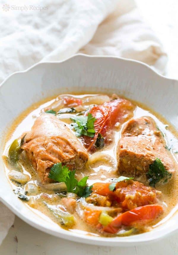 Salmon Stew for 45 Easy Lent Recipes for the Lenten Season