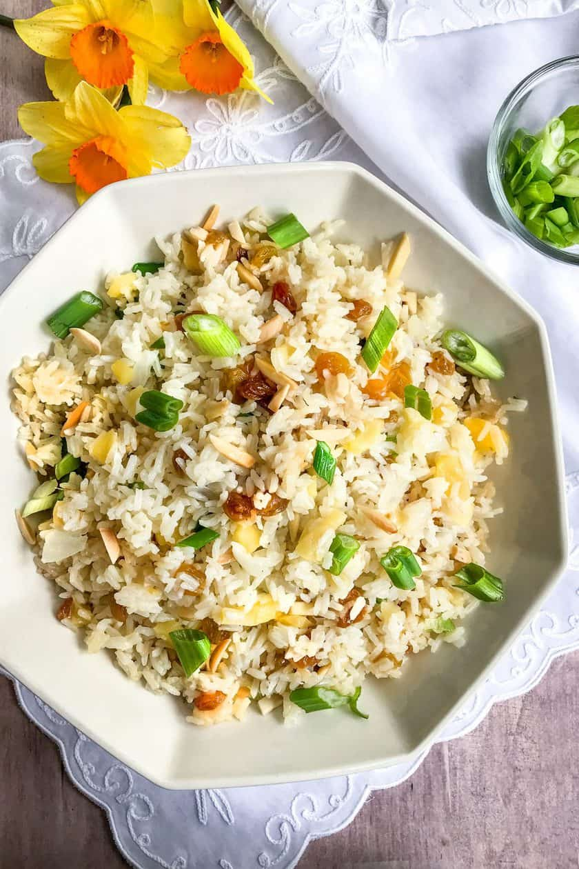 A Favorite Tradition: Instant Pot Fruited Rice Pilaf | 31Daily.com