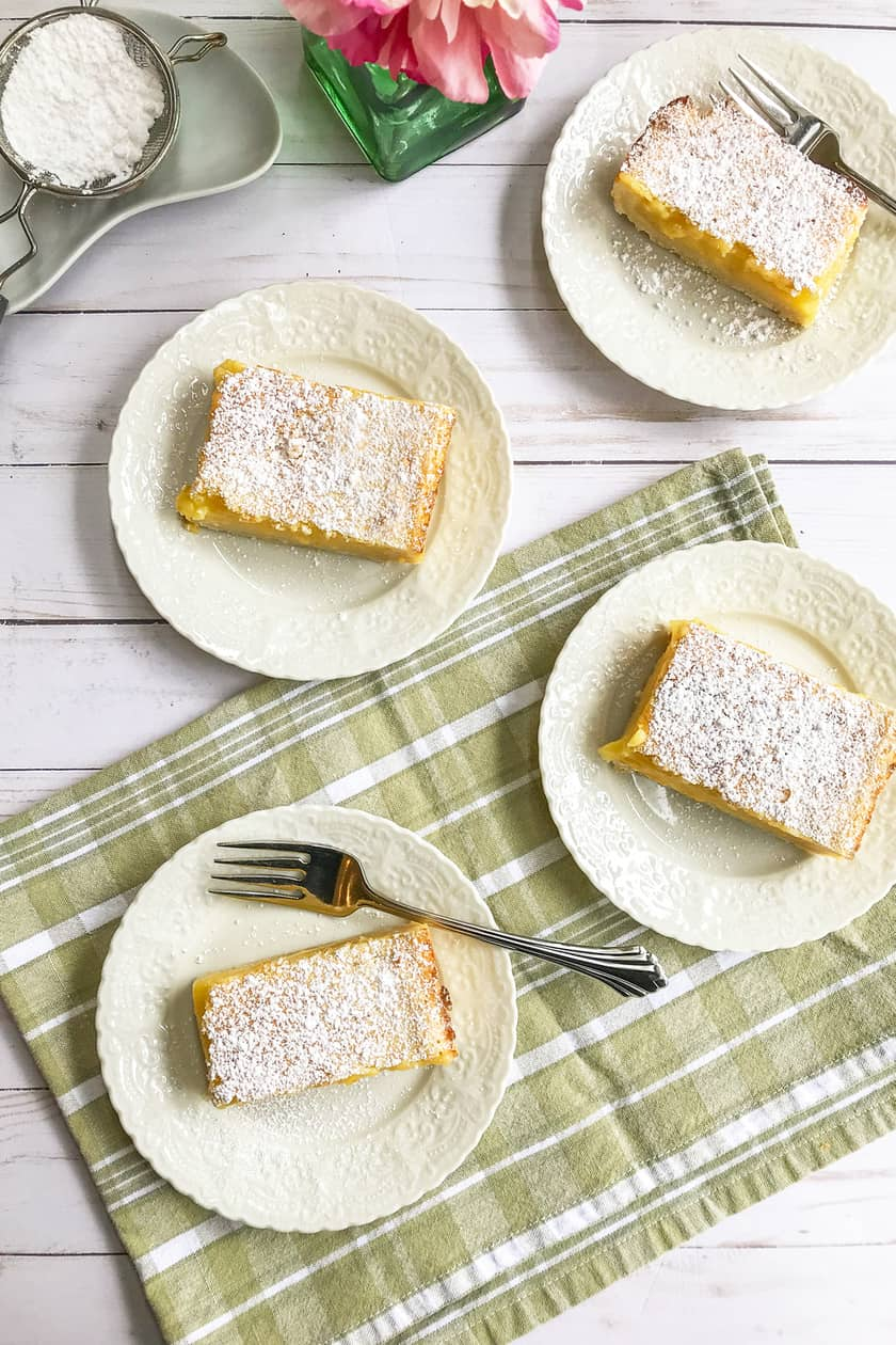 Easy Lemon Bars with Zested Shortbread Crust   31Daily.com