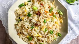 A Favorite Tradition: Instant Pot Fruited Rice Pilaf