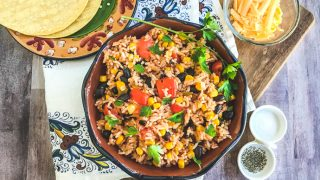 Instant Pot Mexican Rice with Corn and Black Beans