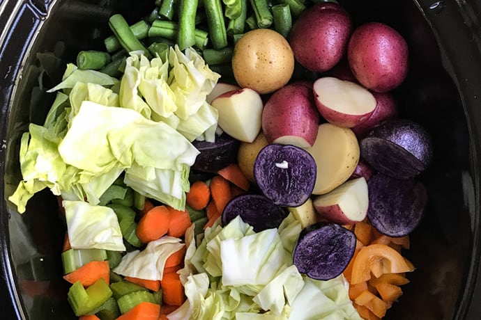 Dinner Meal Plan // Week 15: Colorful Entrées