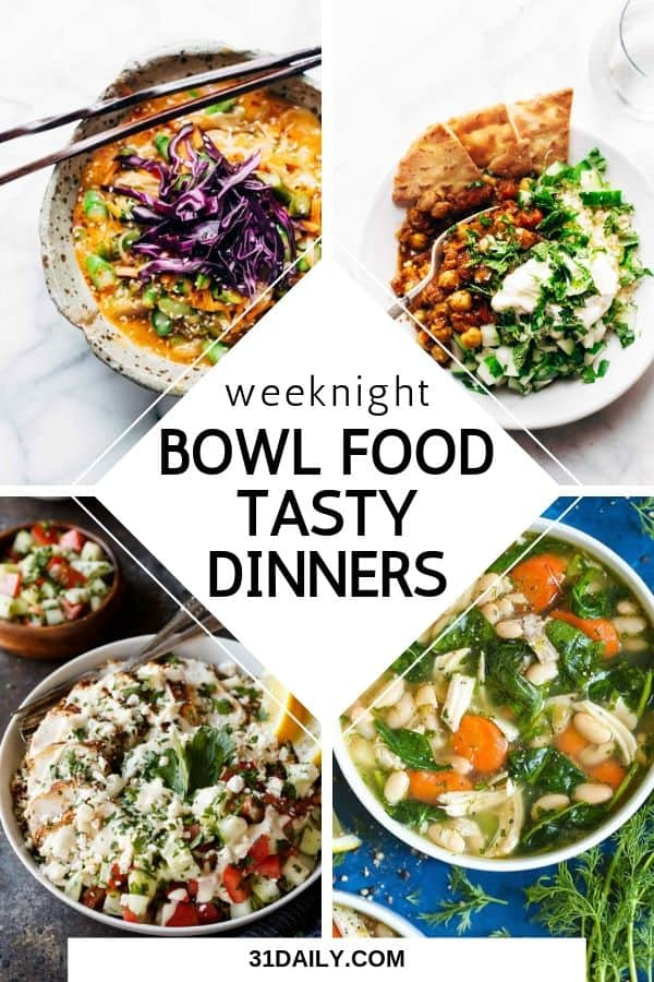 Meal Plan Weeknight Dinners
