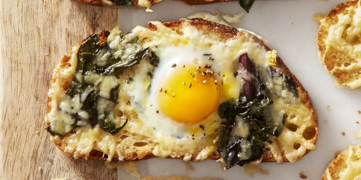 Best Chard and Gruyère Eggs in the Hole Recipe - How to Make Chard and Gruyère Eggs in the Hole