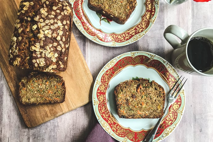 Healthy Morning Zucchini Bread