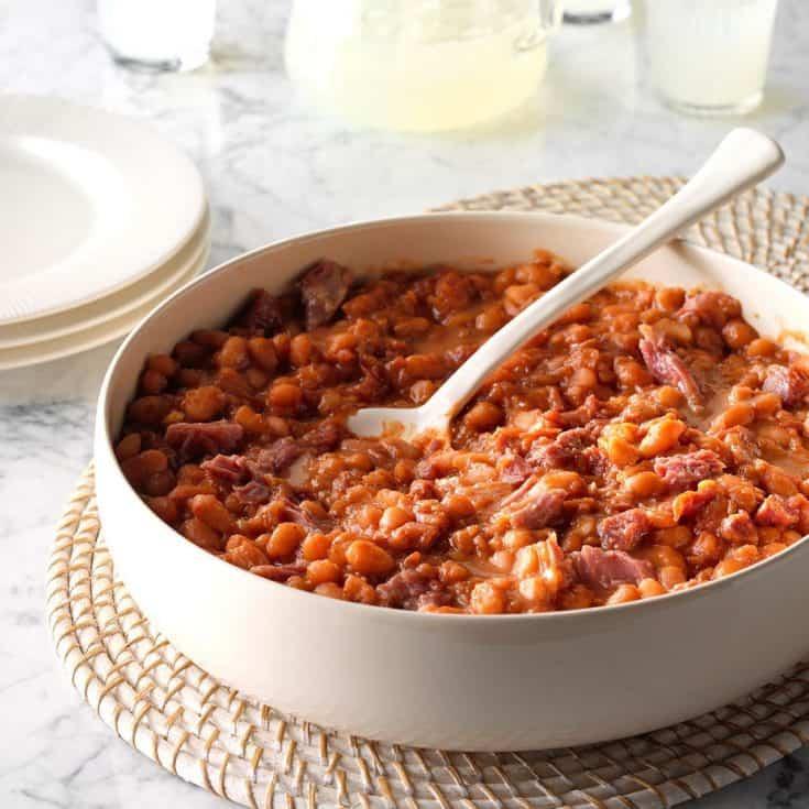 Pressure Cooker BBQ Baked Beans