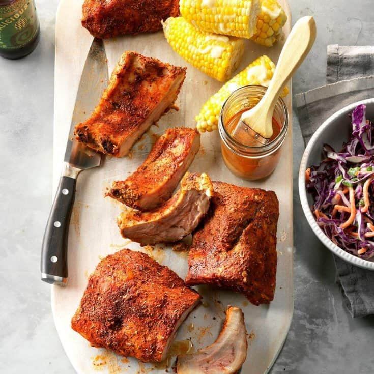 Pressure Cooker Memphis-Style Ribs