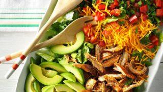 slow cooker taco salad