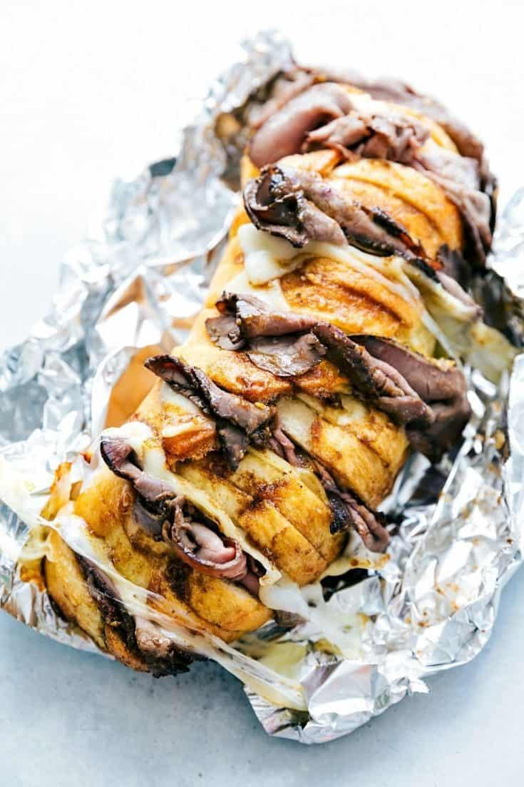 Foil Pack French Dip Sandwiches
