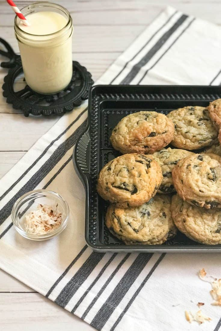 Royale Coconut Macadamia Nut Chocolate Chip Cookies