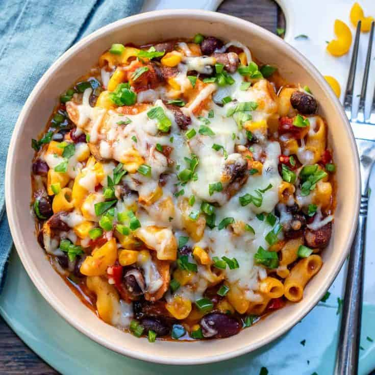 Friday: Easy Chili Mac and Cheese