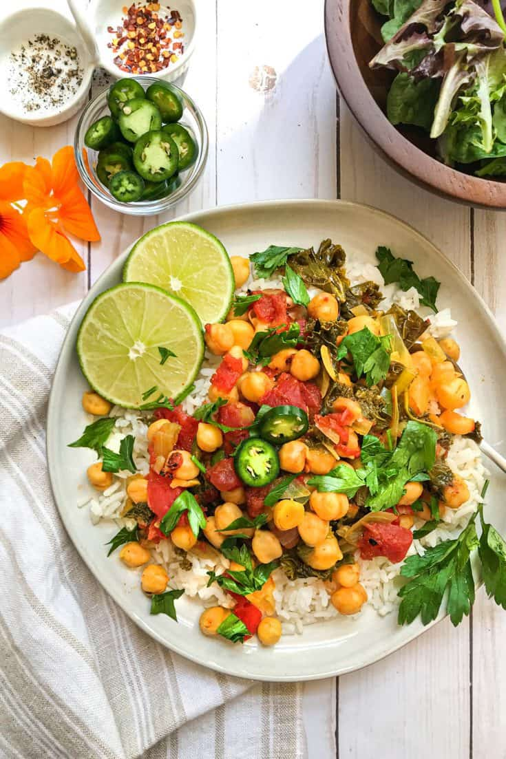 Wednesday: Vegetarian Instant Pot Chickpea Curry