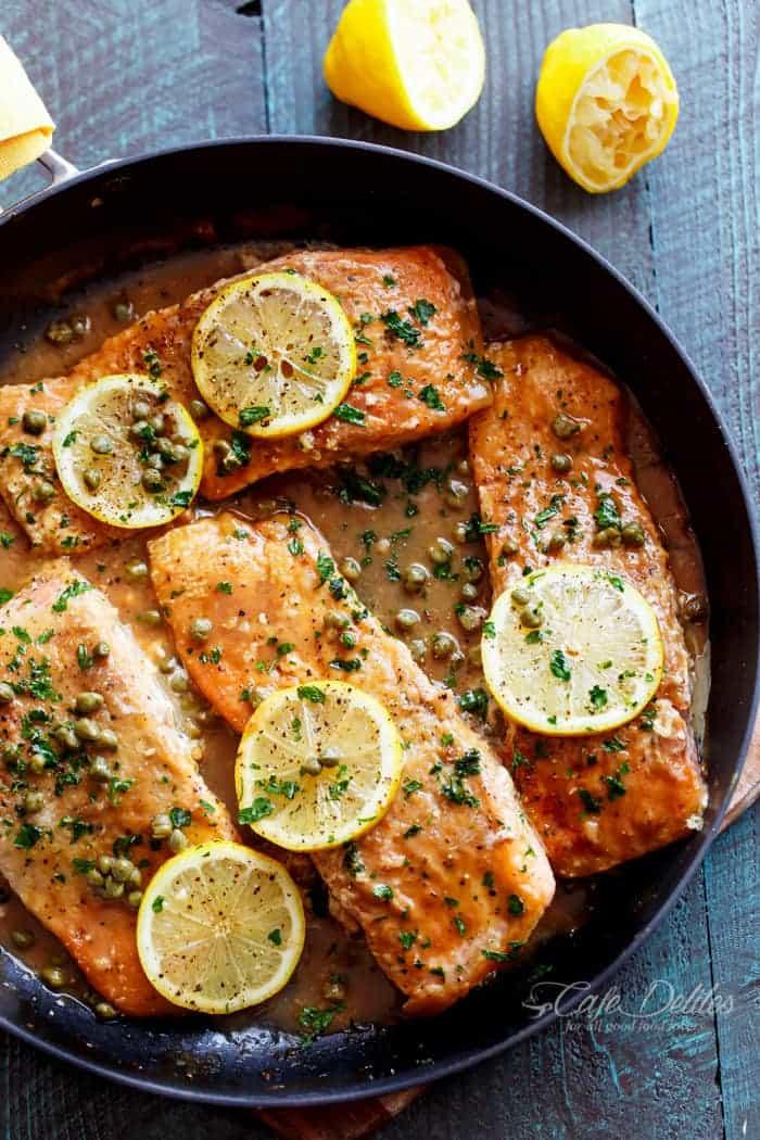Thursday: Easy Salmon Piccata