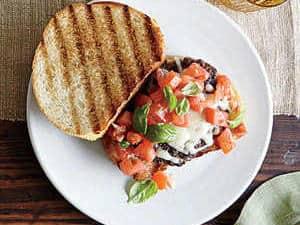 Friday: Bruschetta Burgers
