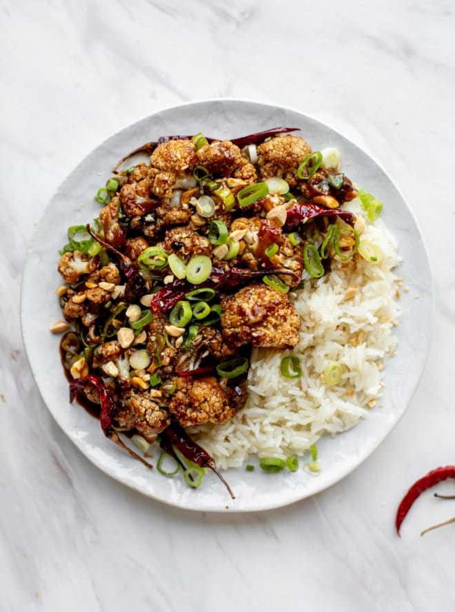 Monday: Kung Pao Cauliflower - Kung Pao Cauliflower Recipe
