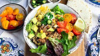 Easy Instant Pot Turkey Burrito Bowl Recipe