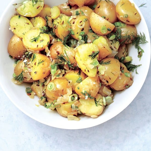 German Potato Salad with Dill