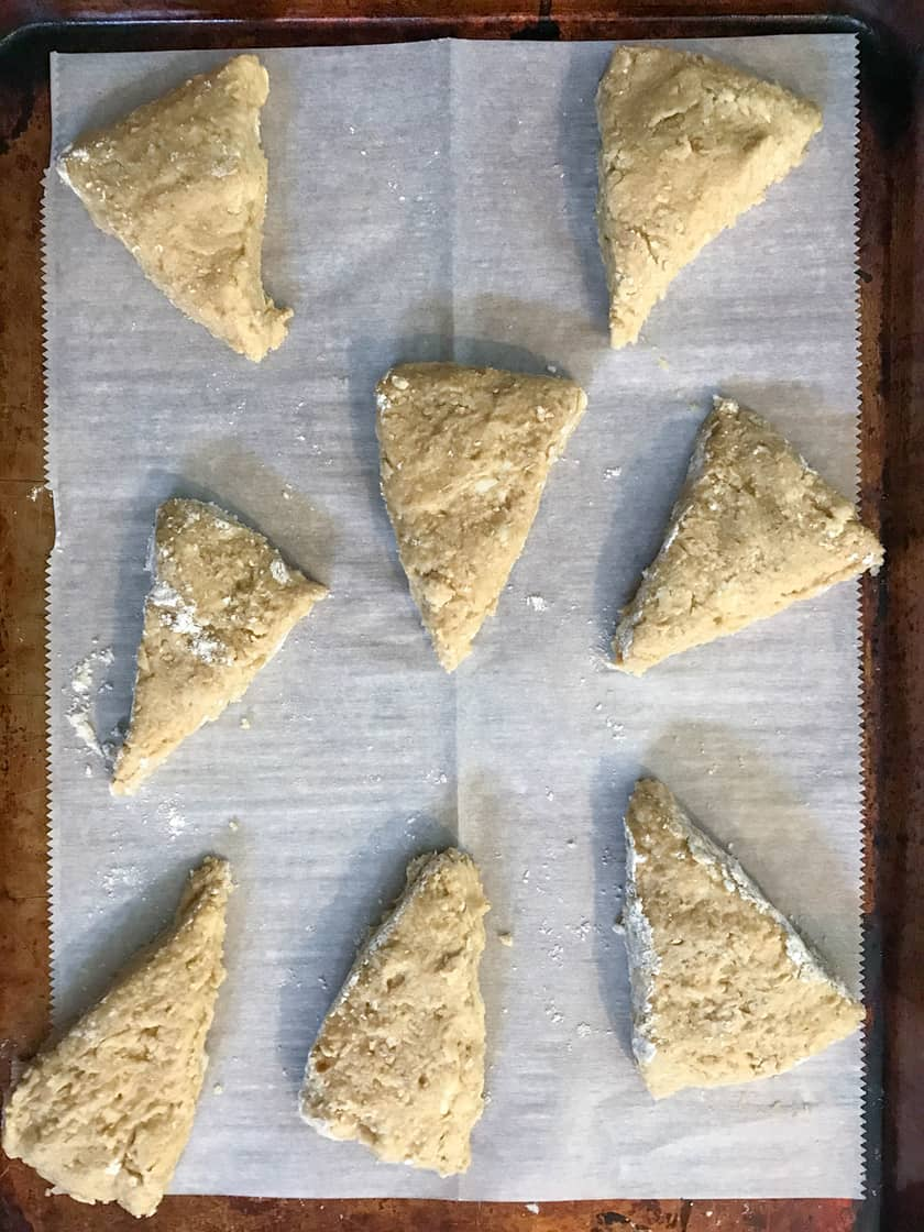 Scone wedges
