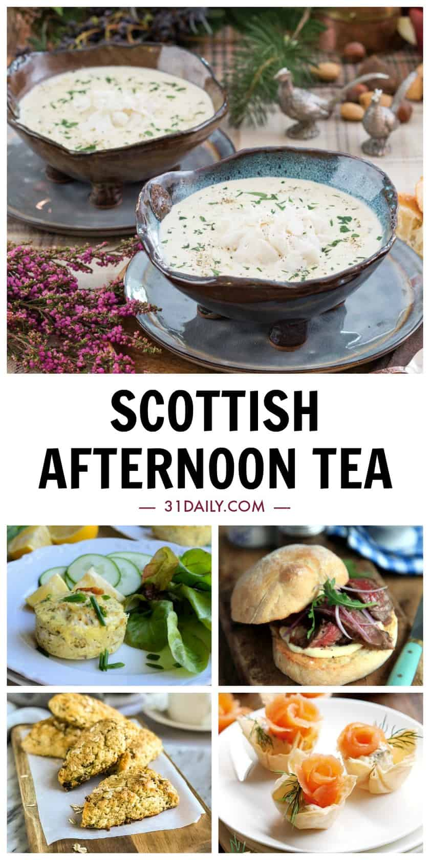 Pinterest Pin Scottish Afternoon Tea