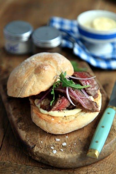 Mini Rustic Steak Sandwiches