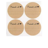 Homemade with Love Labels, 40 Pcs