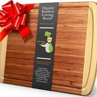 18 x 12.5 Inch - Organic Wood Butcher Block